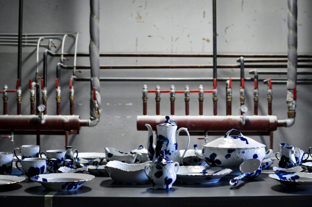 """""""Ludzie z fabryki porcelany"""" na wernisażu w Sofii w Bułgarii"""