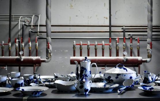 """Kolekcja """"Ludzie z fabryki porcelany"""" na wernisażu w Sofii"""