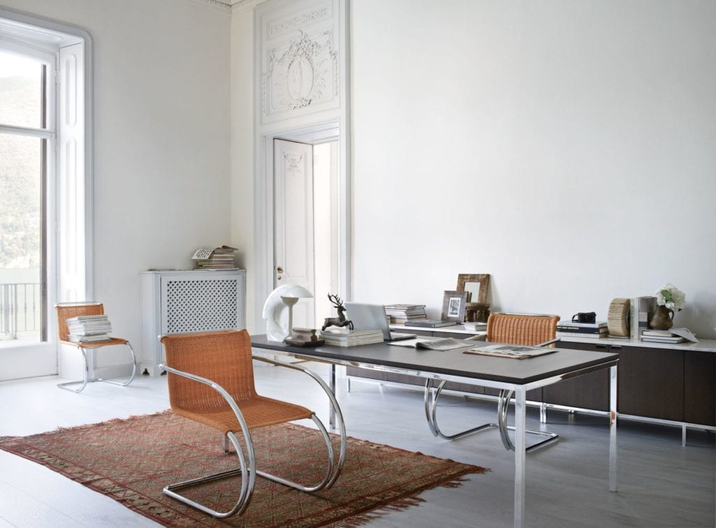 MR Chair Florence Knoll Table