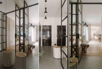 Studio O i mieszkanie dla pary z dwójką dzieci