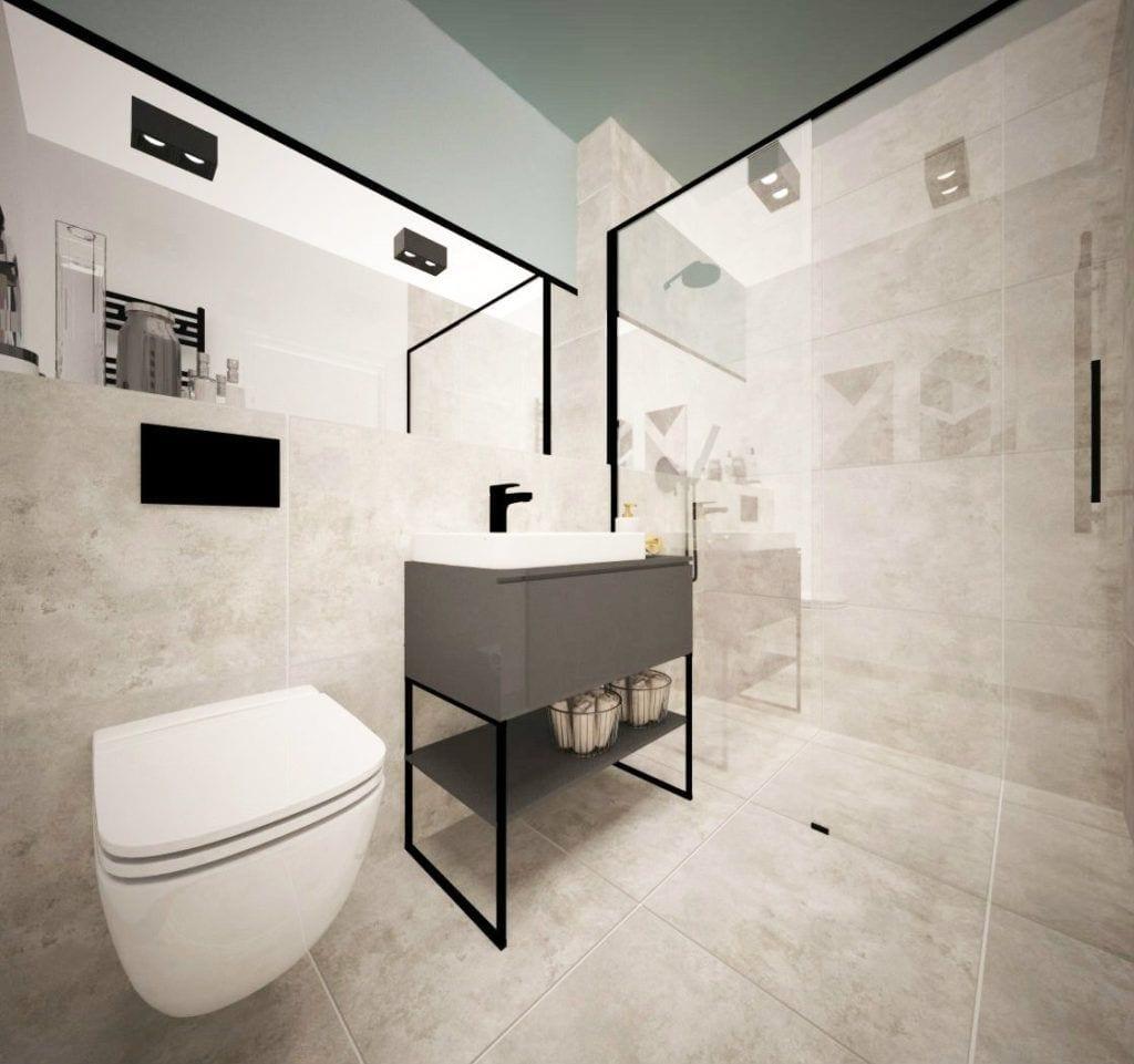 Toaleta z bidetem w Pacific Residence Warszawa Powiśle