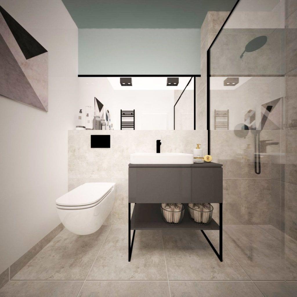Toaleta w Pacific Residence Warszawa Powiśle