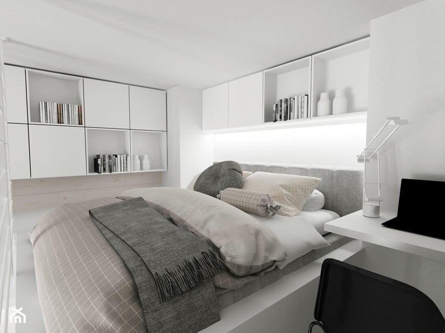Jasny salon - projekt Piotr Skorupski Studio Architektury