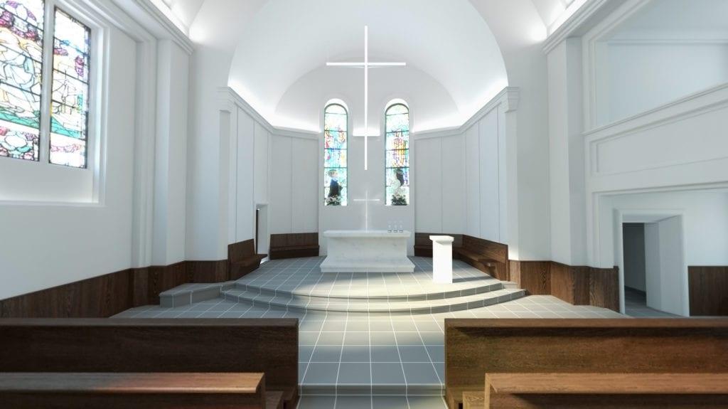 Rewitalizacja kościoła świętego Józefa Oblubieńca w Żórawinie projektu Hanczar Studio #5