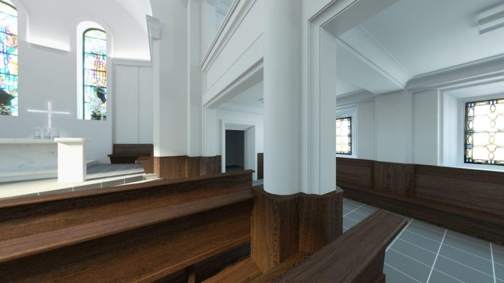 Rewitalizacja kościoła świętego Józefa Oblubieńca w Żórawinie projektu Hanczar Studio #4