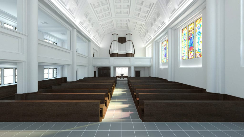 Rewitalizacja kościoła świętego Józefa Oblubieńca w Żórawinie projektu Hanczar Studio #3