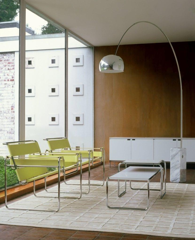 Wassily Chairs projektu Marcel Breuer Knoll