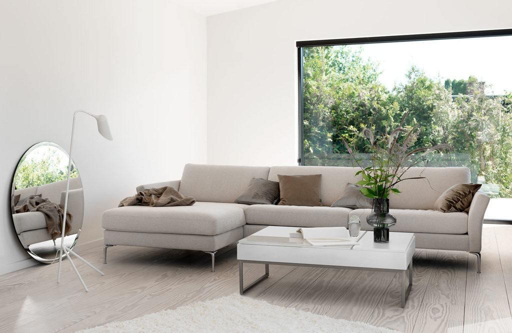 Beżowa sofa Indivi projektu Andersa Nørgaarda