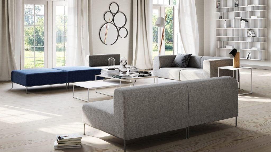 Szafa sofa Indivi projektu Andersa Nørgaarda