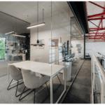 Biuro firmy Budus projektu studia hanczarstudio