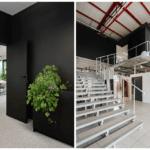 Schody w biurze Budus projektu studia hanczarstudio