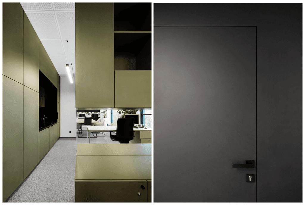 Detale w biurze Budus projektu projektu studia hanczarstudio