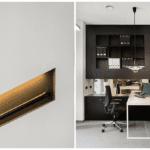 Kuchenna zabudowa w biurze Budus projektu studia hanczarstudio