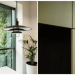 Lampa w biurze Budus projektu studia hanczarstudio
