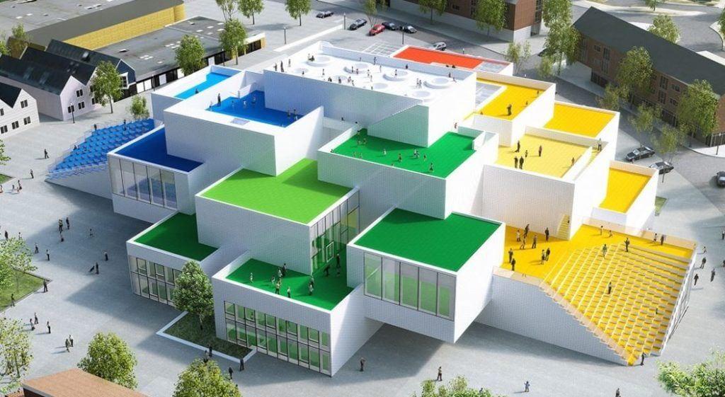 Centrum kreatywnosci Lego House w Billund