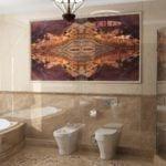 Marmur Crema Marfil w łazince