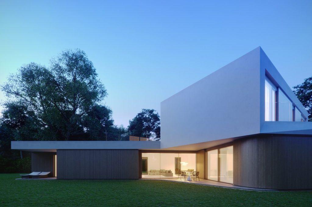 Dom Meandrowy projektu pracowni Piotr Banach Architekci