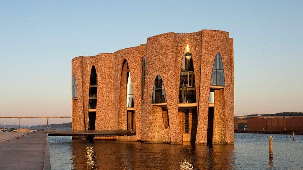 Front Fjordenhus w Vejle projekt Olafur Eliasson