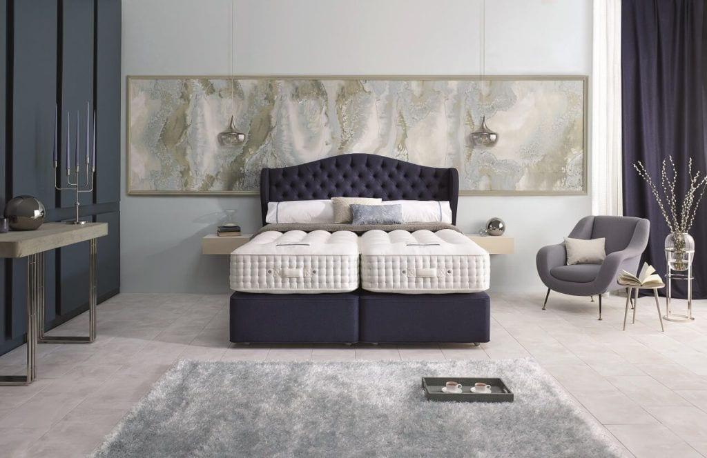Home & Hotel Solutions - fioletowe wezgłowia łózka Rego