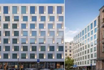 Hotel Puro Warszawa projektu JEMS Architekci