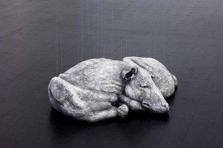 Elegy & De Profundis - instalacja artysty Miguel Rothschild