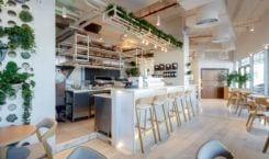 Bagel Yard Cafe w Dubaju projektu H2R Design