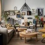 Salon z meblami z kolekcji Ribbon od marki VOX