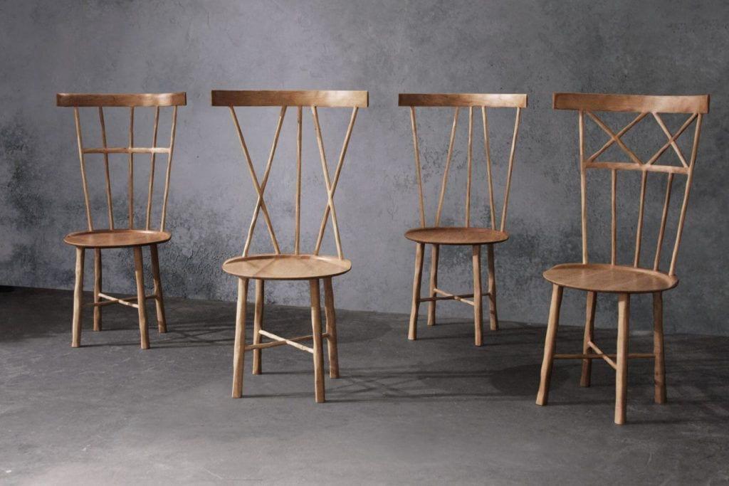 Krzeslo W projektu Anny Karlin