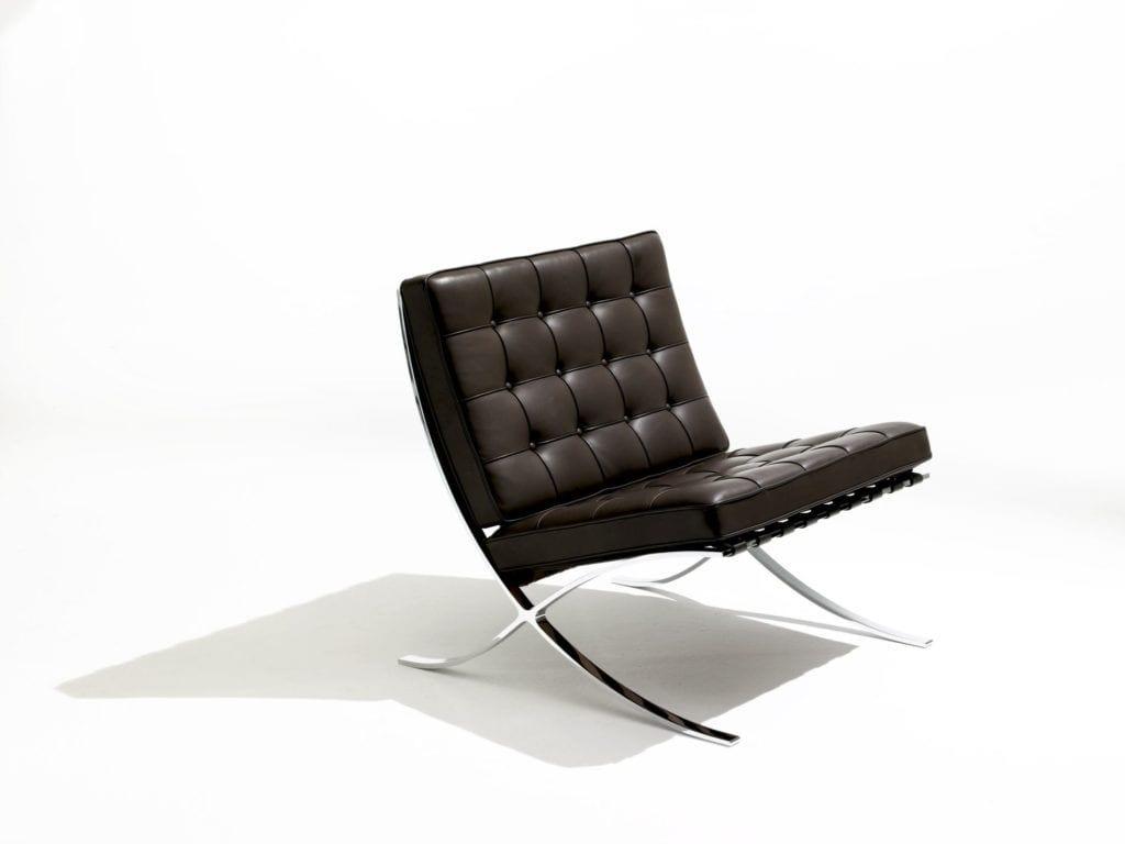 Krzeslo barcelona Knoll projekt Ludwig Mies van der Rohe