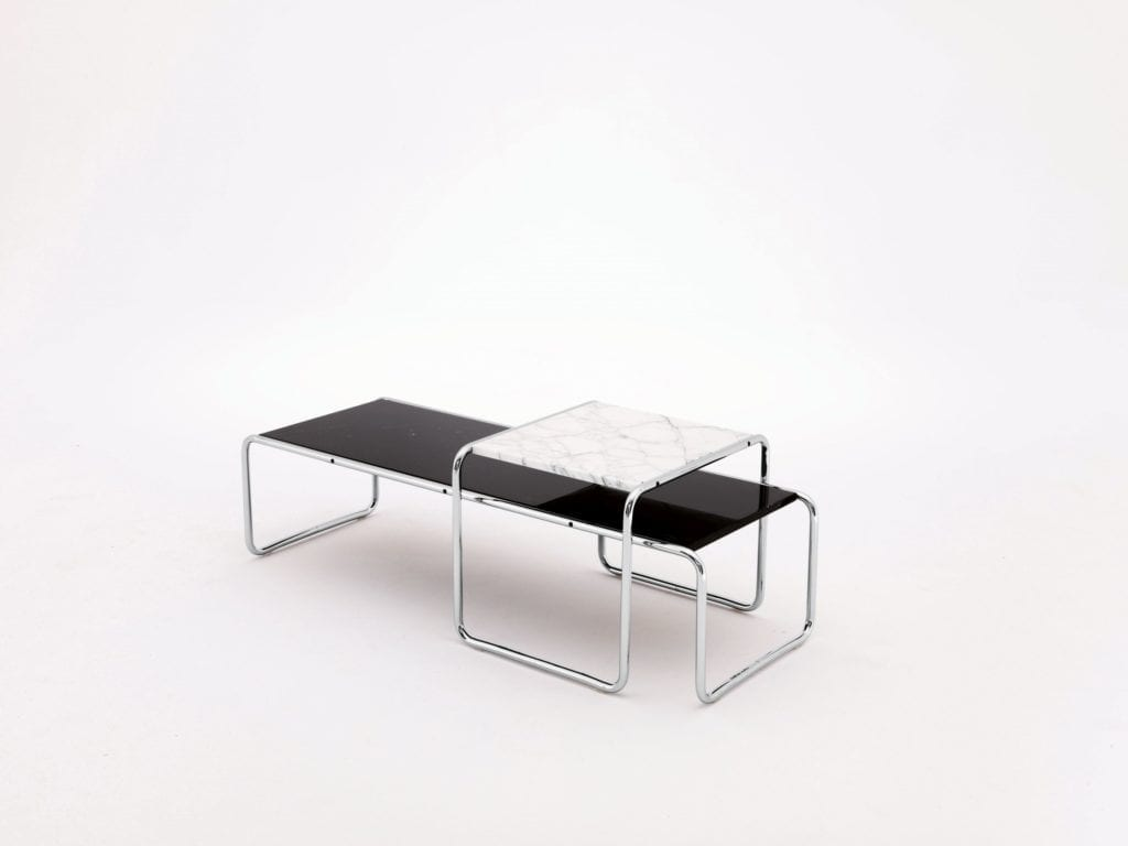 Laccio Table designed by Marcel Breuer Knoll-plndesign