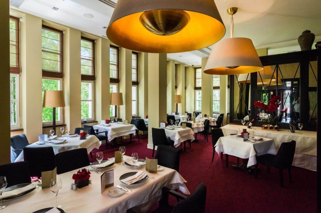 Restauracja w Modrzewie Park Hotel ośrodek w sercu Pienin