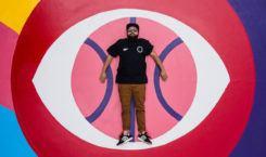 Mural AkaCorleone zmienia boisko do koszykówki