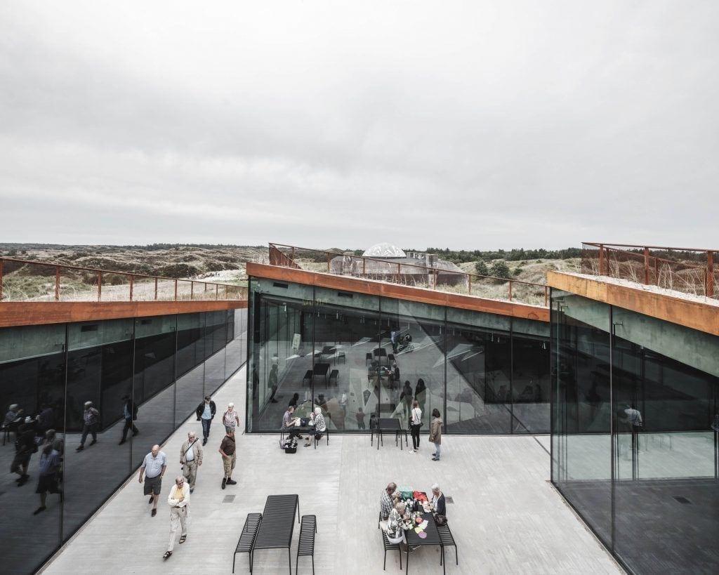 Muzeum Tirpitz w Blavand photo Rasmus Hjortshoj