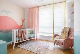 Mieszkanie dla rodziny z dwójką dzieci od Kowalczyk-Gajda Studio Projektowe