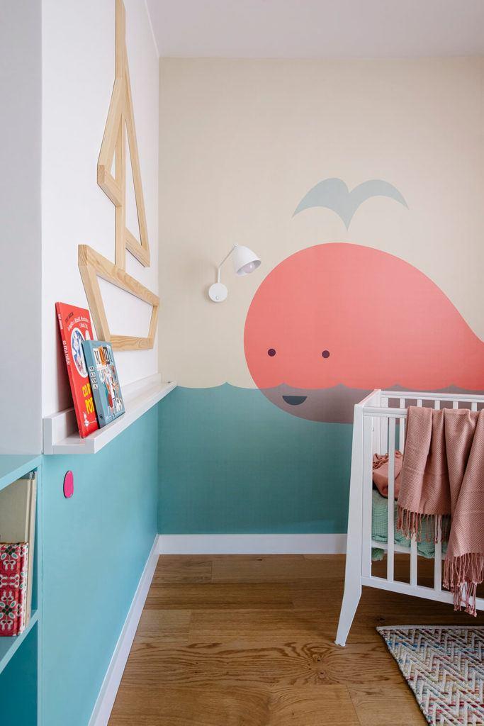 Pokój dziecięcy w mieszkaniu projektu Kowalczyk-Gajda Studio Projektowe