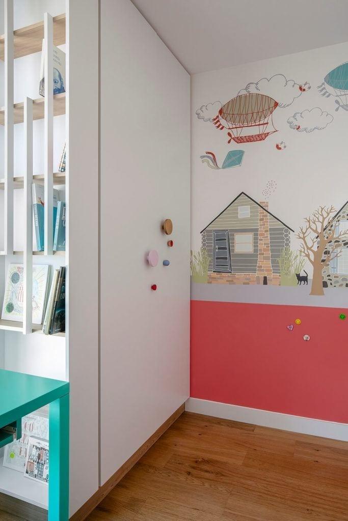 Tapeta w pokoju dziecięcym