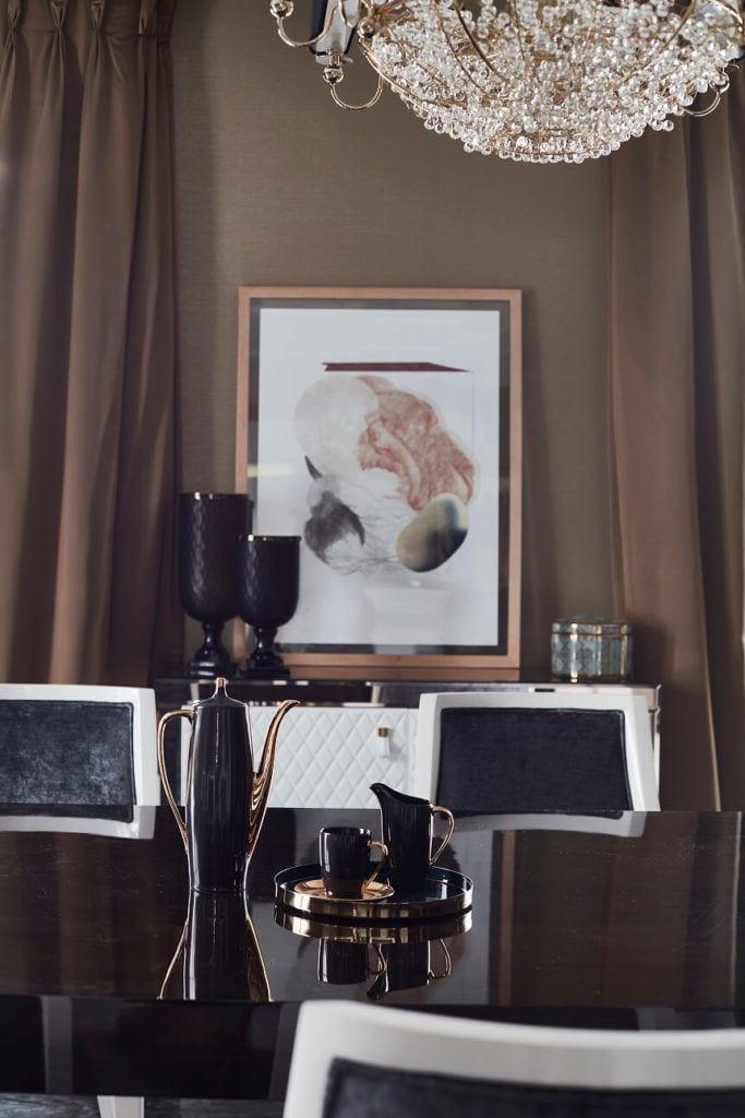 Obraz na ścianie w domu projektu pracowni mDom