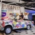 Trabant w hotelu Mercure Budapest Buda