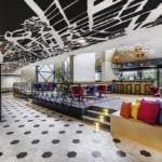Wnętrze hotelu Mercure Budapest Buda odnowionego przez pracownię Tremend