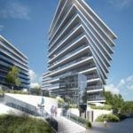 Front inwestycji Wave Apartments Międzyzdroje