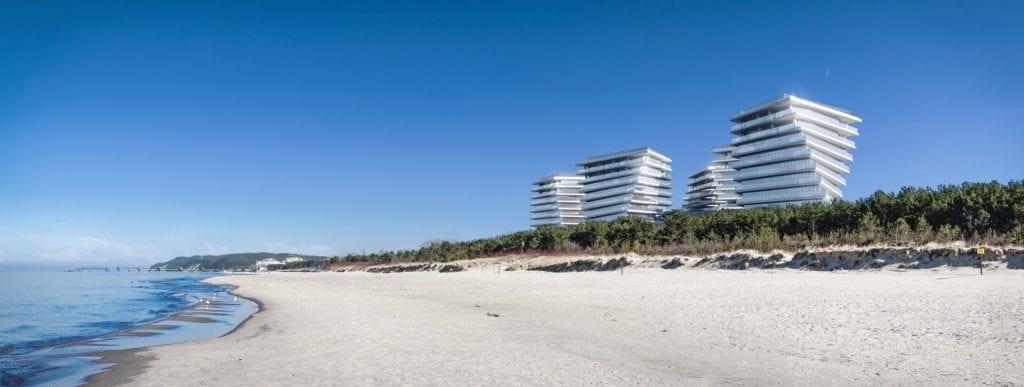 Wave Apartments Międzyzdroje przy plaży