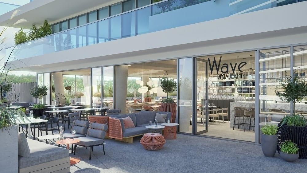 Restauracja w Wave Apartments Międzyzdroje