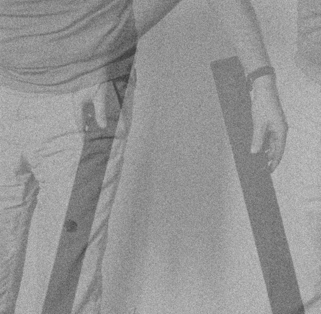 Andrzej Dłużniewski, 22 obrazy figuralne, 1979, fotografia na płótnie, 92x92 cm - Warsaw Gallery Weekend