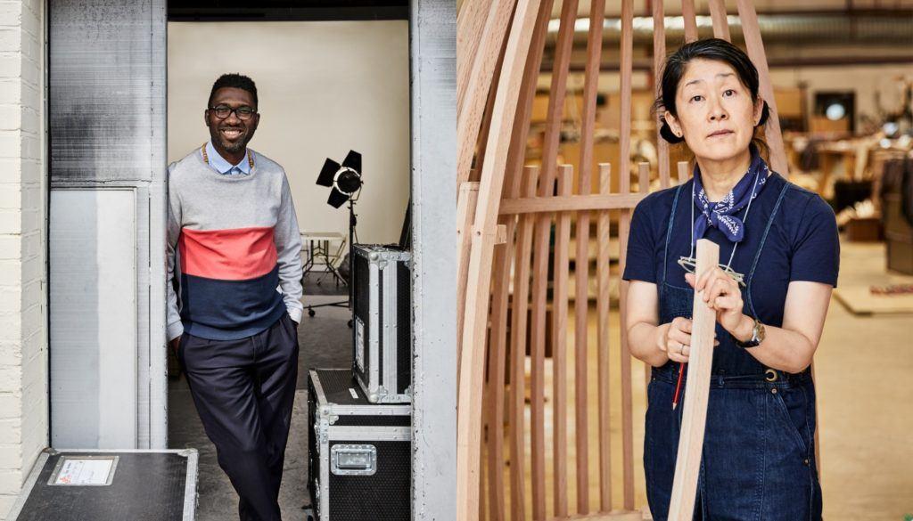 Au Tomoko Azumi Kwame Kwei Armah Young Vic red oak AHEC - Legacy - London Design Festival