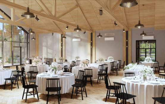 Dom weselno-eventowy Lubaszka projektu MEEKO