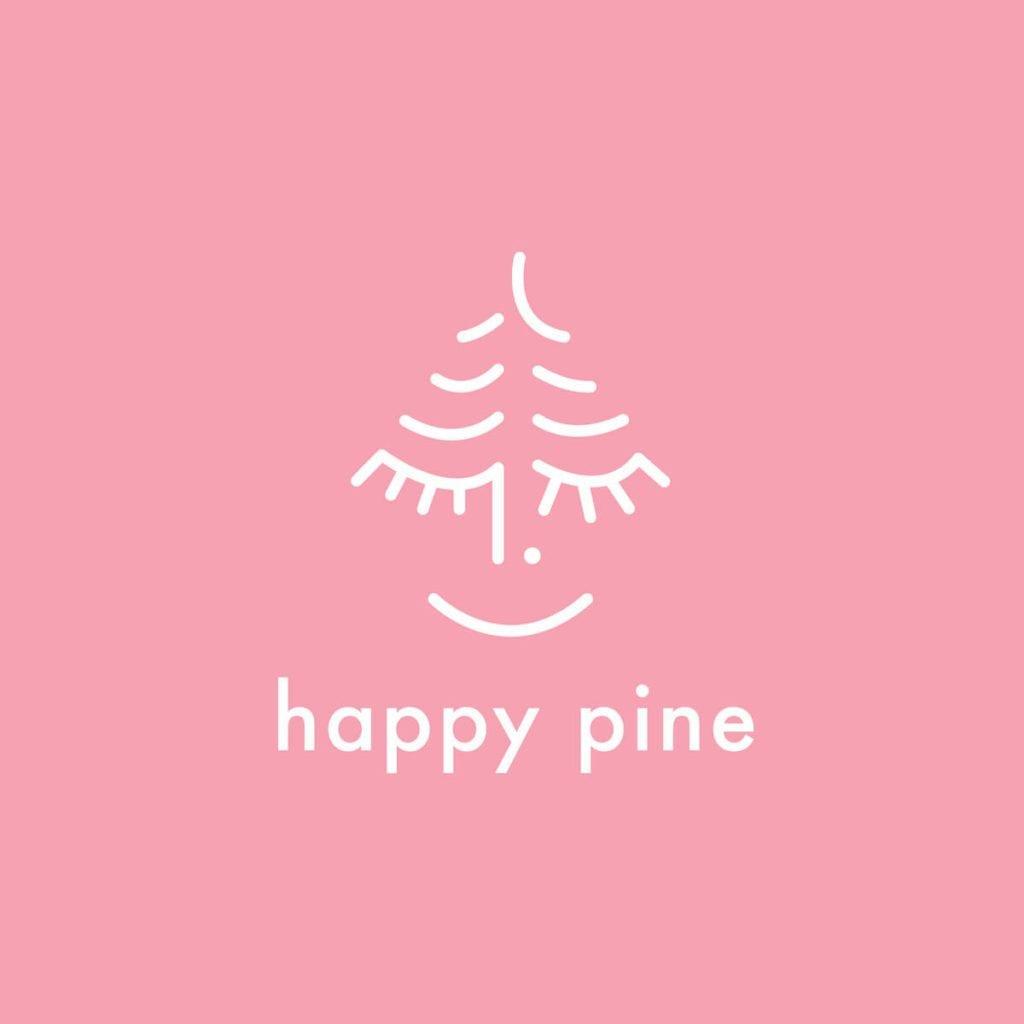 Logo marki Happy Pine