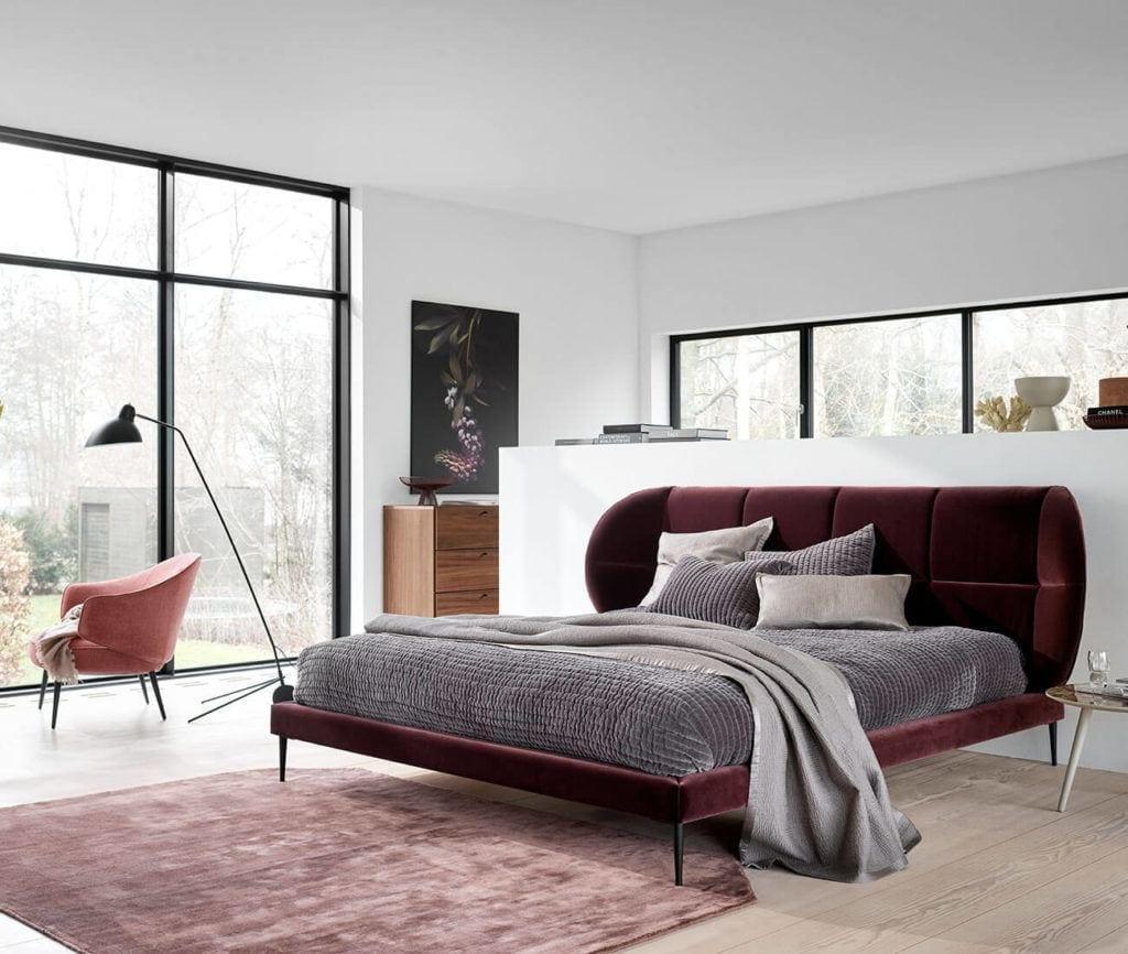 Duze łóżko od BoConcept