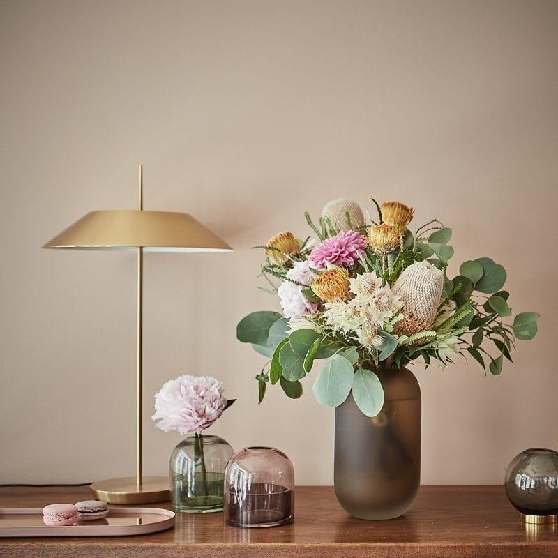 Kwiatowa dekoracja w Galerii Ornament - autorska pracownia Anny ,Koszeli-Krawczyk -foto Budzik Studio