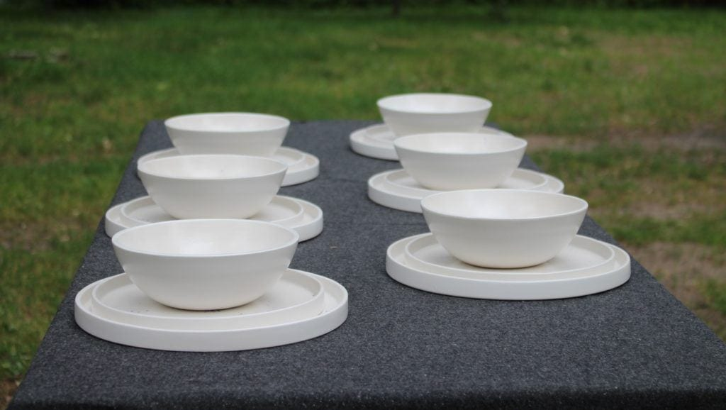 Biała ceramika od M2K ceramika