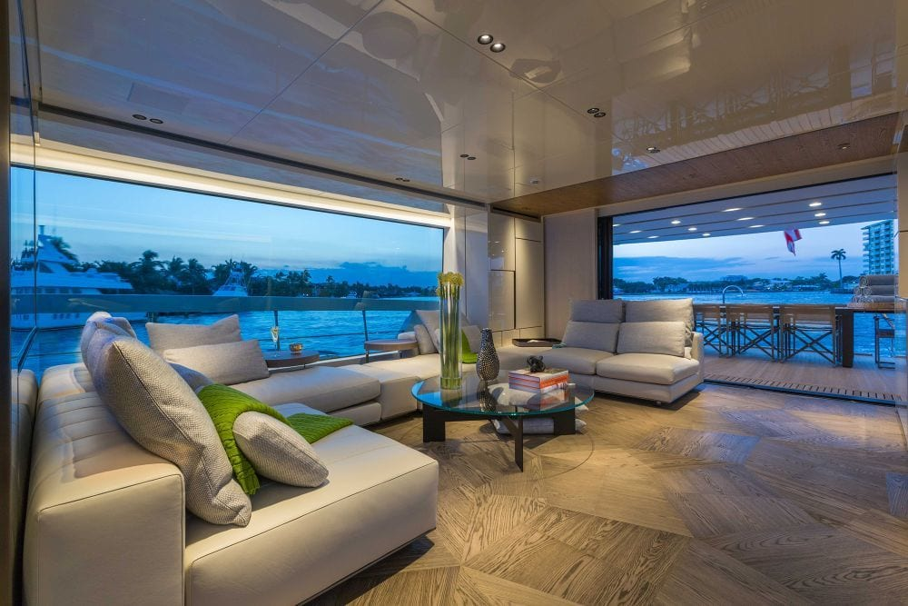 Wnętrze jachtu San Lorenzo